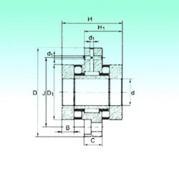 65 mm x 155 mm x 17,5 mm  NBS ZARF 65155 TN complex bearings #3 image