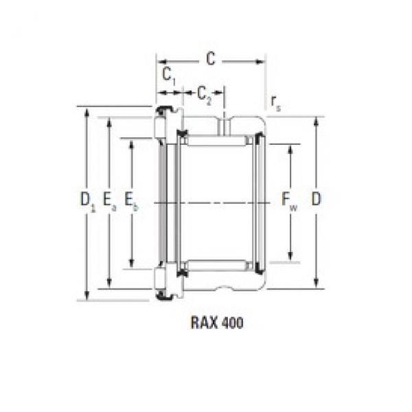 Timken RAX 450 complex bearings #3 image