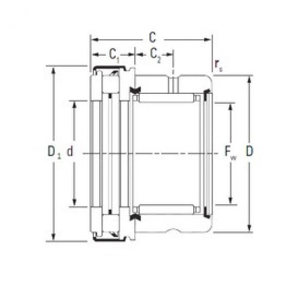 Timken RAXZ 515 complex bearings #3 image