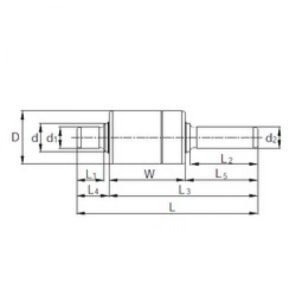 KBC BW306201 complex bearings #3 image