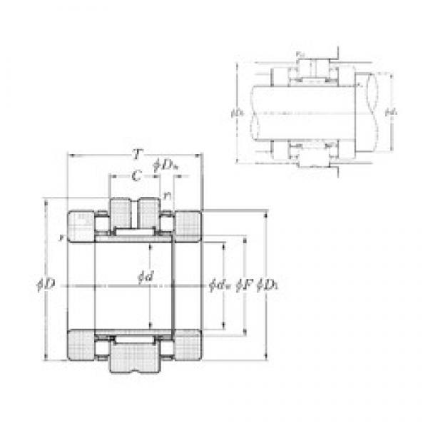 NTN ARN4090 complex bearings #3 image