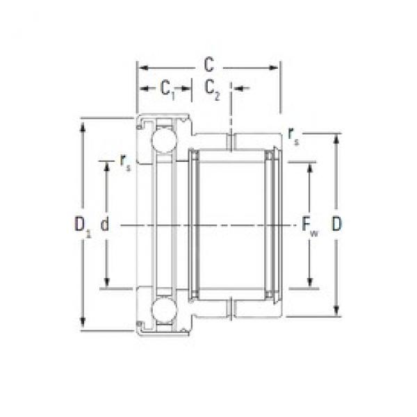 KOYO NAXK25Z complex bearings #3 image