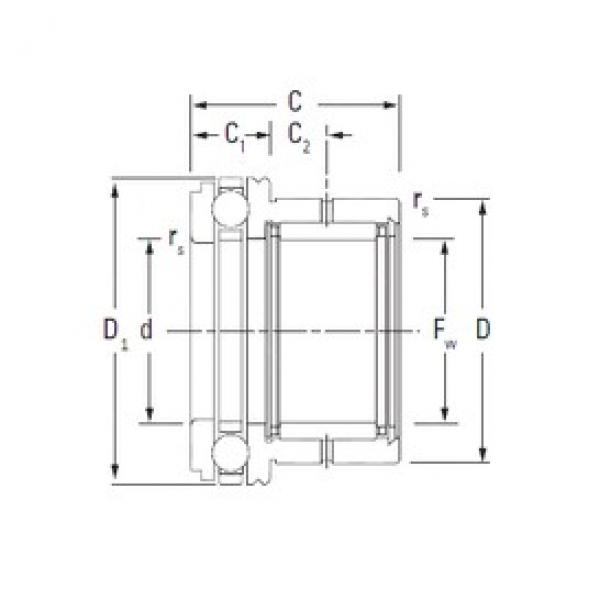 KOYO NAXK45 complex bearings #3 image