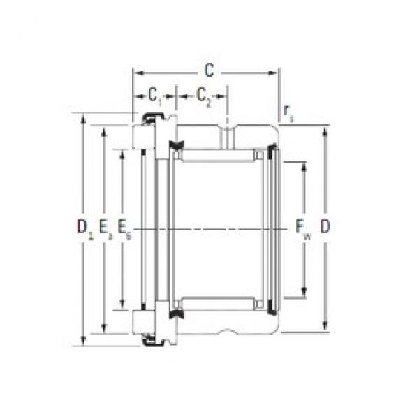 Timken RAX 525 complex bearings #3 image