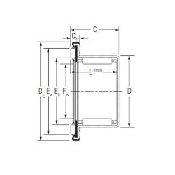 KOYO RAXF 712 complex bearings #3 image