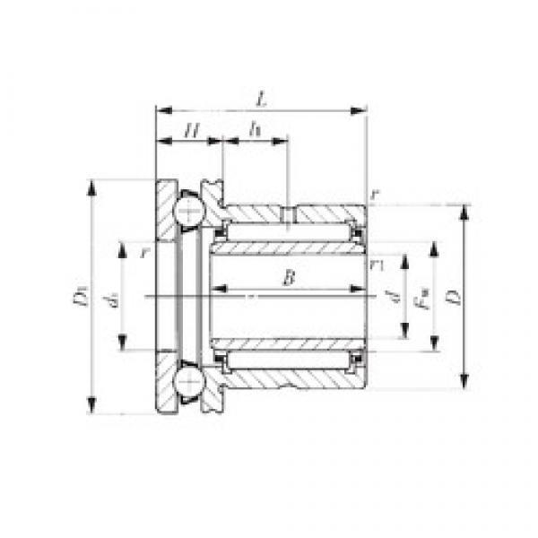 40 mm x 58 mm x 20 mm  IKO NAXI 4032 complex bearings #3 image