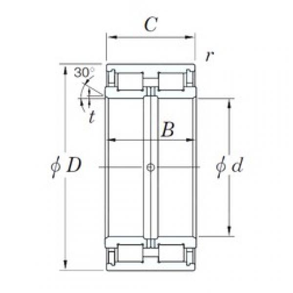 360 mm x 540 mm x 243 mm  KOYO DC5072 cylindrical roller bearings #3 image