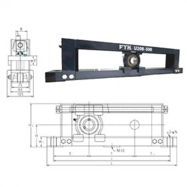 FYH UCTU314-700 bearing units #3 image