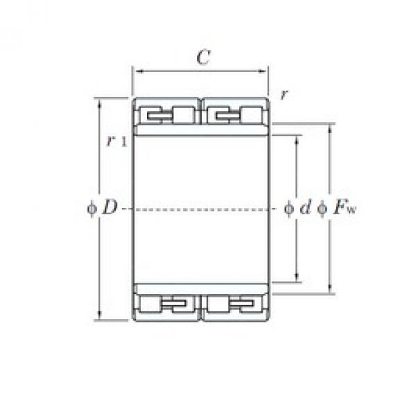 150 mm x 230 mm x 156 mm  KOYO 313891-1 cylindrical roller bearings #3 image