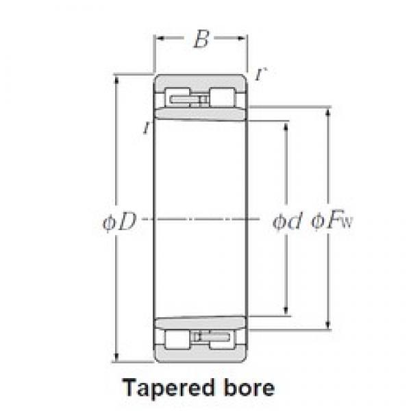 110 mm x 150 mm x 40 mm  NTN NNU4922K cylindrical roller bearings #3 image