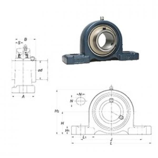 FYH UCP314-44 bearing units #3 image