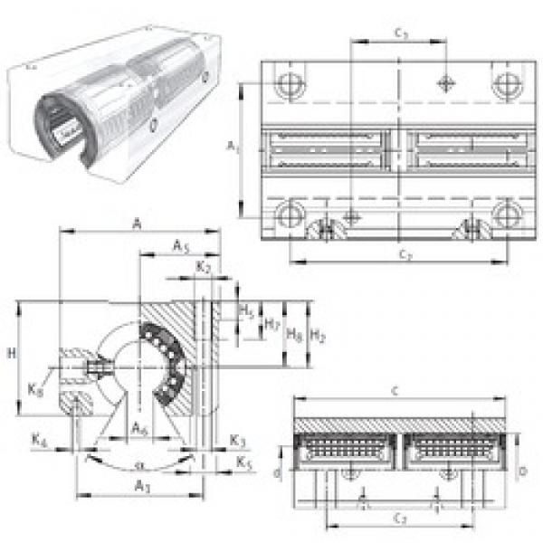 INA KTSO30-PP-AS linear bearings #3 image