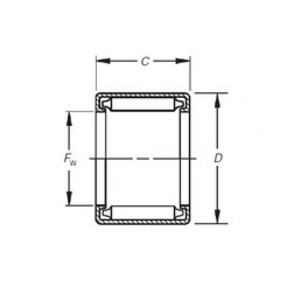 Timken B-3216 needle roller bearings #3 image