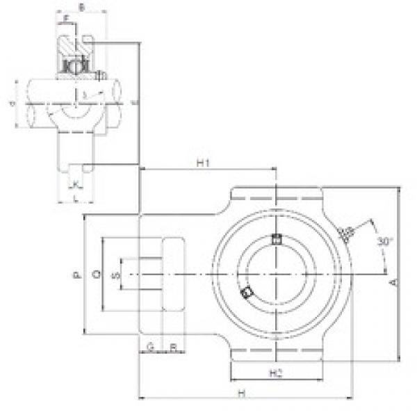 ISO UCT307 bearing units #3 image