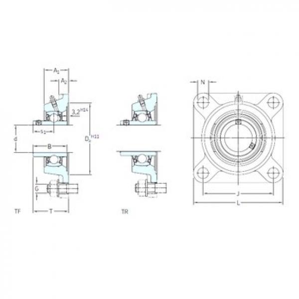 SKF FY 1.5/8 TF bearing units #3 image