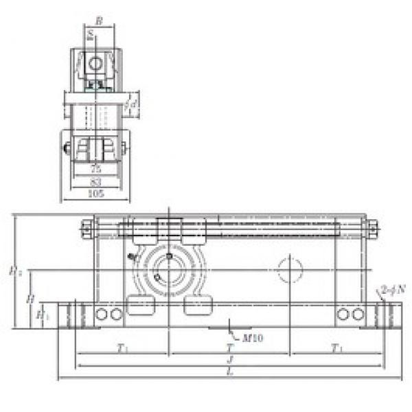 KOYO UCTU317-800 bearing units #3 image
