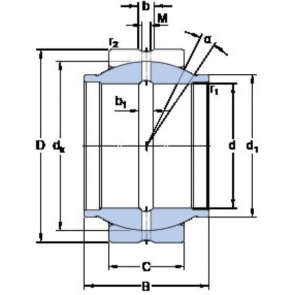 200 mm x 290 mm x 200 mm  SKF GEG 200 ES plain bearings #3 image