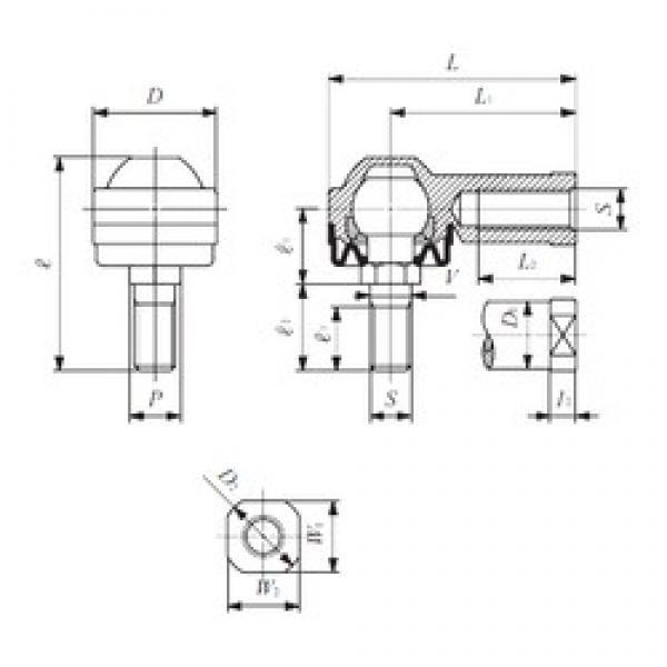 IKO LHSA 10 plain bearings #3 image