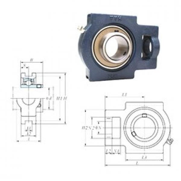 FYH UCT322 bearing units #1 image