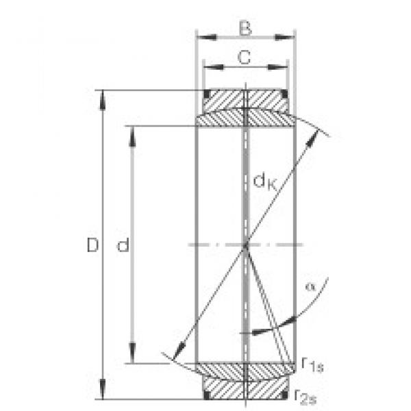 INA GE8-DO plain bearings #3 image
