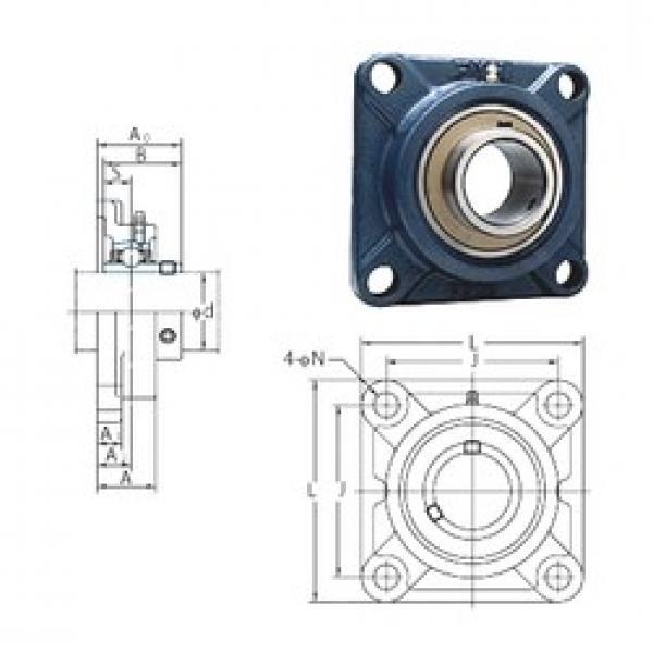 FYH UCF206-19E bearing units #3 image
