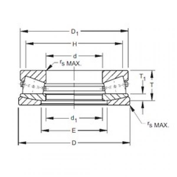 Timken E-2004-C thrust roller bearings #3 image