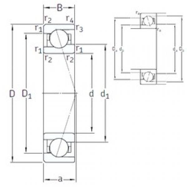 20 mm x 37 mm x 9 mm  SNFA VEB 20 7CE3 angular contact ball bearings #3 image