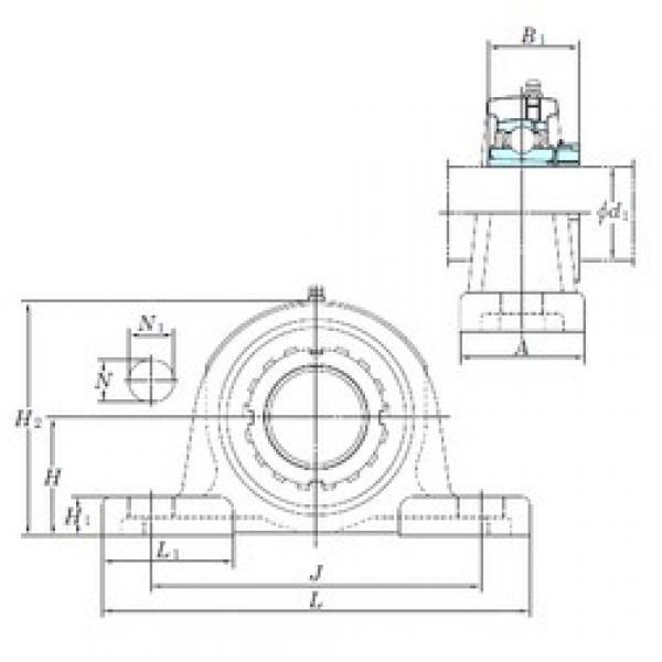 KOYO UKP315 bearing units #3 image