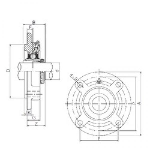 25 mm x 80 mm x 38 mm  ISO UKFC206 bearing units #3 image