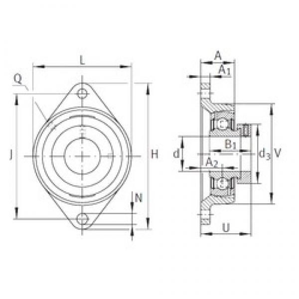 INA PCJT1-7/16 bearing units #3 image