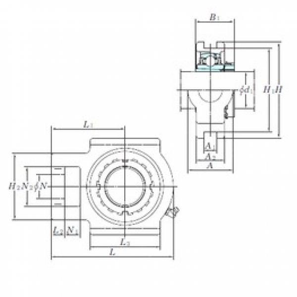 KOYO UKT317 bearing units #3 image