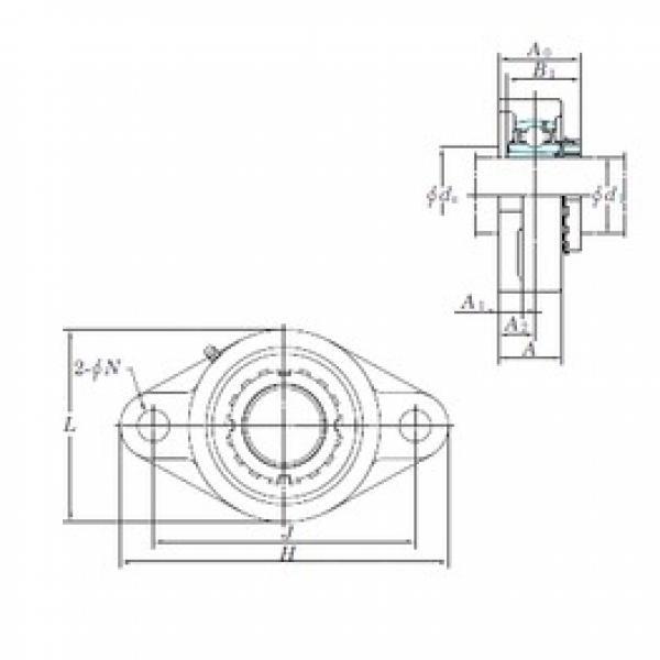 KOYO UKFL326 bearing units #3 image