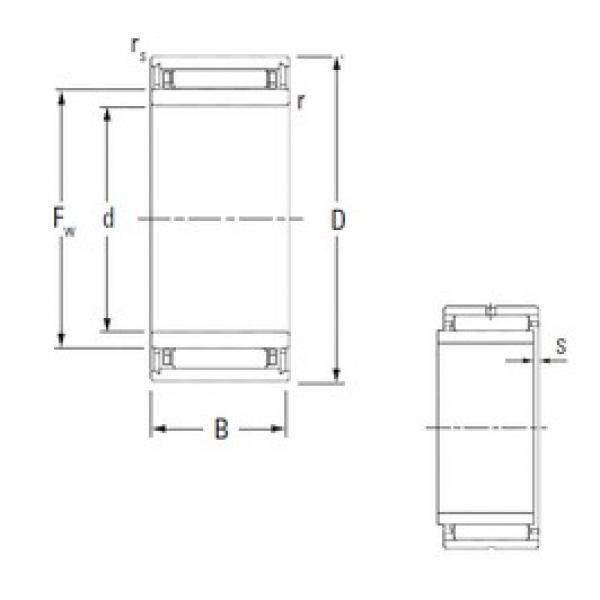 6 mm x 16 mm x 12 mm  KOYO NKJ6/12 needle roller bearings #3 image