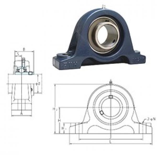 FYH UCIP211 bearing units #3 image