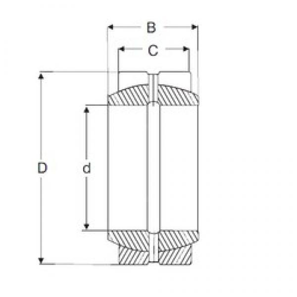 12,7 mm x 22,225 mm x 11,1 mm  SIGMA GEZ 008 ES plain bearings #3 image