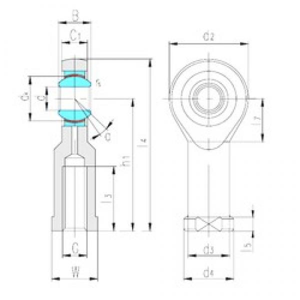LS SIK20C plain bearings #3 image
