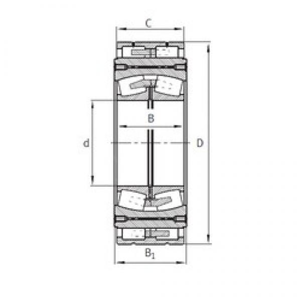 380 mm x 920,75 mm x 300 mm  FAG Z-562660.04.DRGL spherical roller bearings #3 image