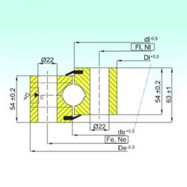 ISB NB1.25.0955.200-1PPN thrust ball bearings #1 image