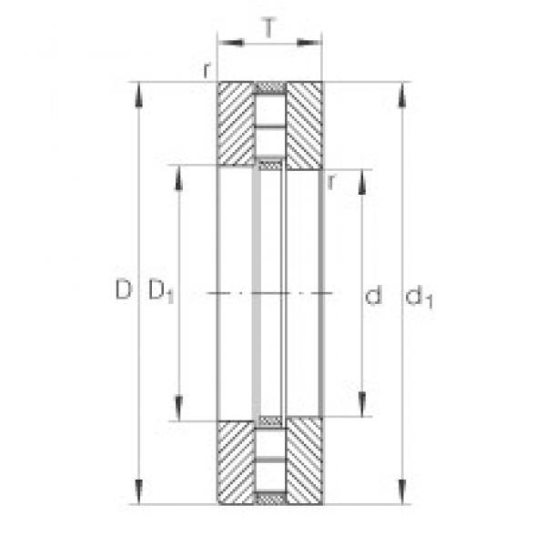 INA 89313-TV thrust roller bearings #3 image
