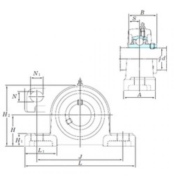 KOYO UCP322SC bearing units #3 image