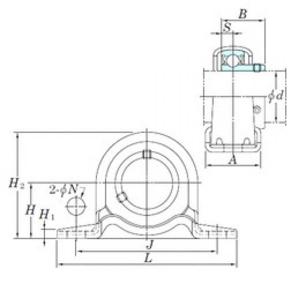 KOYO SBPP201 bearing units #3 image