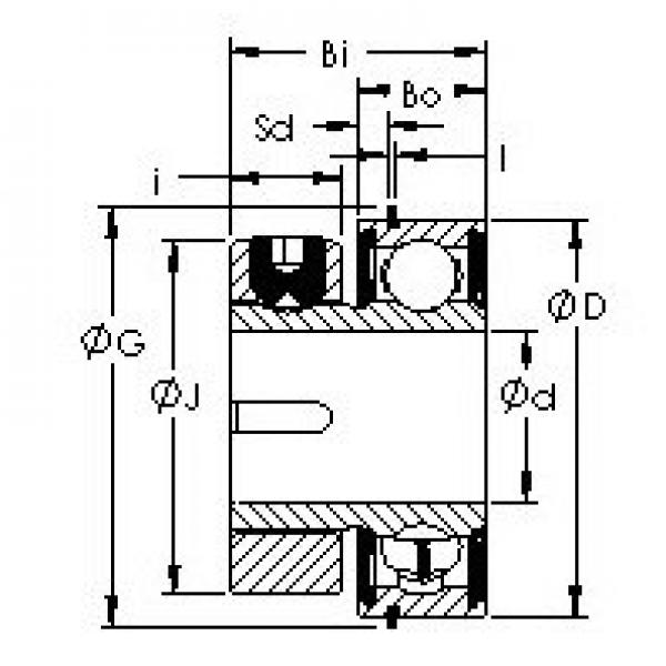 AST S3PPG4 bearing units #3 image