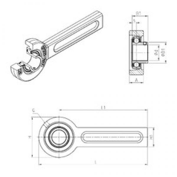 SNR USSP205 bearing units #3 image