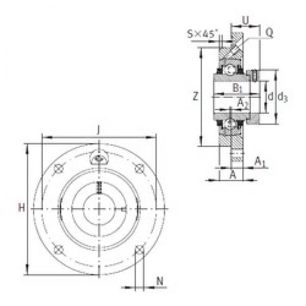 INA TME80 bearing units #3 image