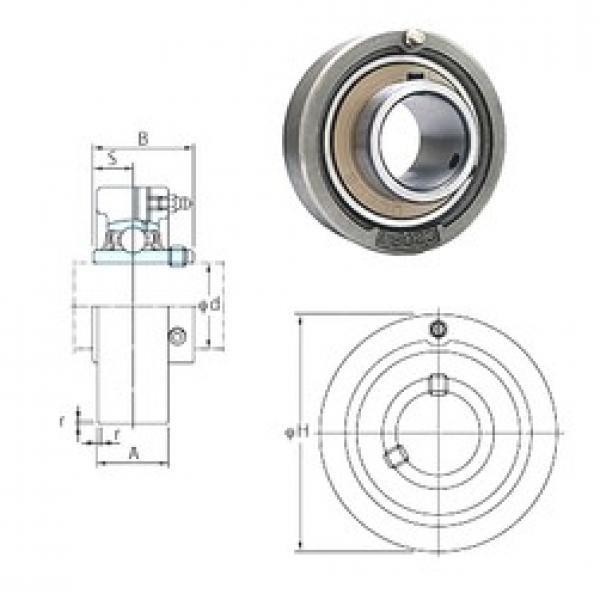FYH UCC328 bearing units #3 image