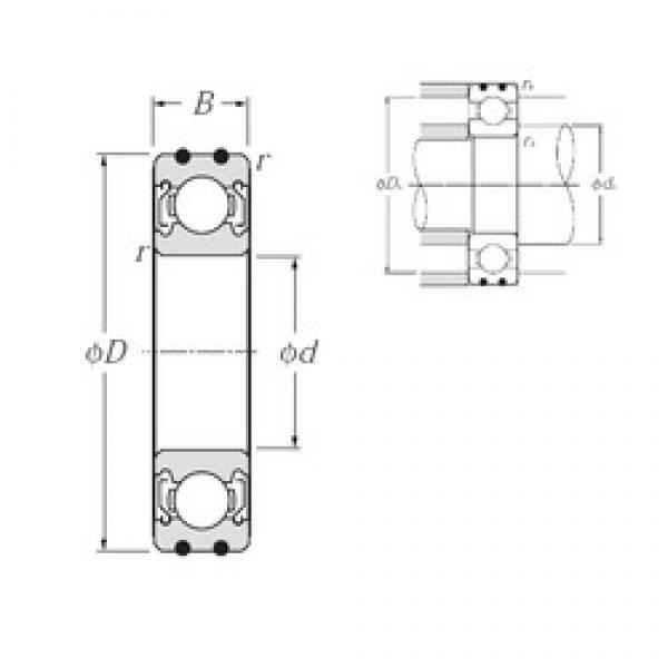 10 mm x 26 mm x 8 mm  NTN AC-6000ZZ deep groove ball bearings #3 image