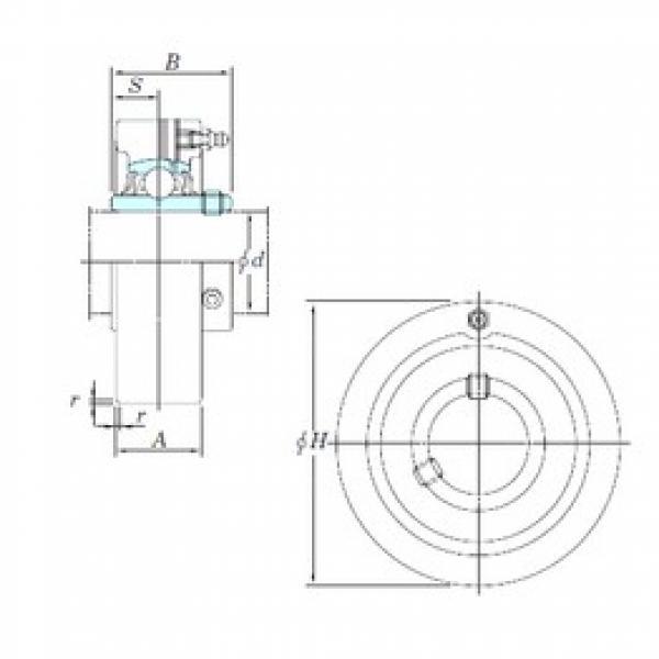 KOYO UCC205-14 bearing units #3 image