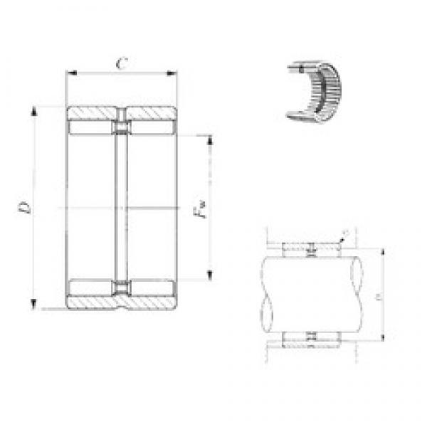 IKO GBR 162416 needle roller bearings #3 image