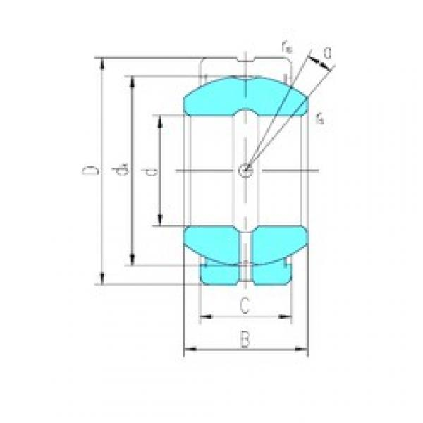 15 mm x 26 mm x 12 mm  LS GE15ES-2RS plain bearings #3 image