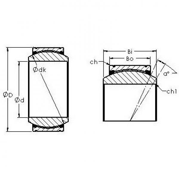 AST GE160XT/X-2RS plain bearings #3 image